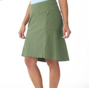 Royal Robbins Green Skirt